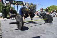 La Plazoleta del Fundador se convirtió en un gimnasio de CrossFit