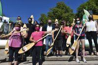 Río Rosa: el programa que propone remar contra el cáncer de mama