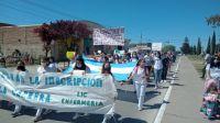 Carrera de Enfermería: marcha de los estudiantes y reunión clave para que la Licenciatura no se cierre