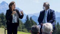 Diálogo entre la gobernadora y el presidente por la situación en la zona andina
