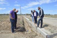 Avanzan las obras de servicios básicos para el loteo social de Carmen de Patagones