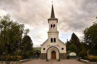 Detuvieron a dos jóvenes que iban a incendiar una parroquia en El Bolsón
